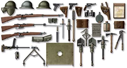 ICM Models WWI Italian Infantry Weapon and Equipment Model Kit