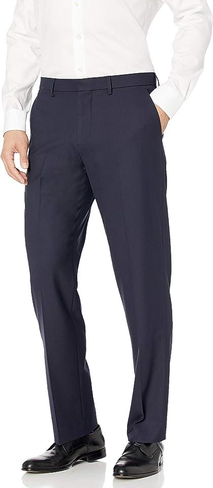 Men's Classic-fit Wrinkle-Resistant Stretch Dress Pant
