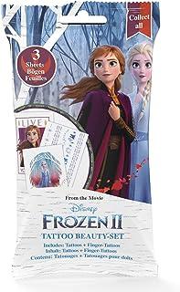 CRAZE Frozen 2 Tattoo Foilbag Beauty Set Tattoos Fingertatueringar 22672, flera versioner