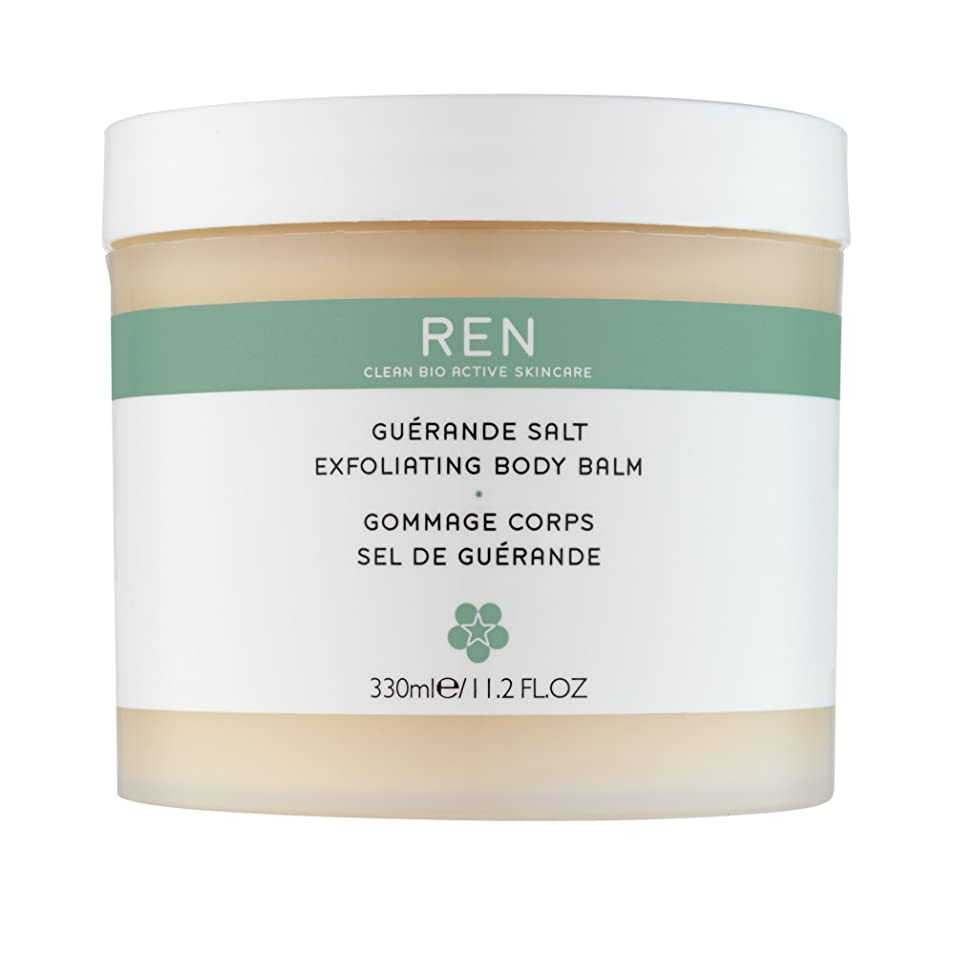 掘る減るランダムRenゲランド塩の角質除去ボディバーム330ミリリットル (REN) (x2) - REN Guerande Salt Exfoliating Body Balm 330ml (Pack of 2) [並行輸入品]