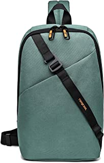 FANDARE Nuevo Bolsa de Pecho Hombre Bolsa Deportiva de Hombro Bandoleras Cruzada 7.9 Inch iPad Sling Bag Bolsa de Hombro B...