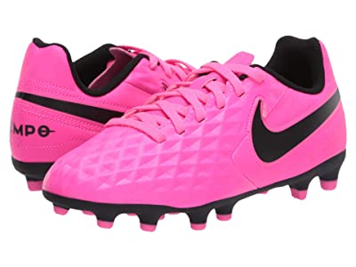 Nike Kids Jr Legend 8 Club FG/MG Soccer (Toddler/Little Kid/Big Kid) (Pink Blast/Black/Pink Blast) Kids Shoes