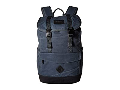 Burton Outing Pack (Dark Slate Waxed Canvas) Day Pack Bags