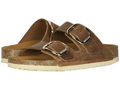 Birkenstock Arizona Big Buckle (Antique Cognac Leather) Women