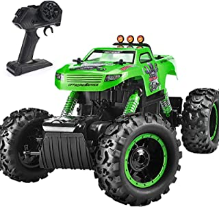 Remote Control Trucks Monster RC Car 1: 12 Scale Off Road Vehicle 2.4Ghz Radio Remote Control Car 4WD High Speed Racing Al...