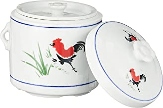 Ciya 11241 Rooster 700CC Porcelain Steam Pot