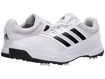 adidas Golf Tech Response 2.0 (Footwear White/Core Black/Footwear White) Men