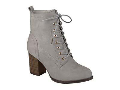 Journee Collection Baylor Bootie (Grey) Women