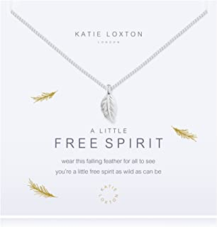 A Little Free Spirit Feather Women's 18 inch Chain Necklace with Charm Pendant