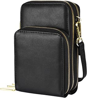Small Crossbody Bag Cell Phone Purse for women,Shoulder Bag with Credit Card Slots