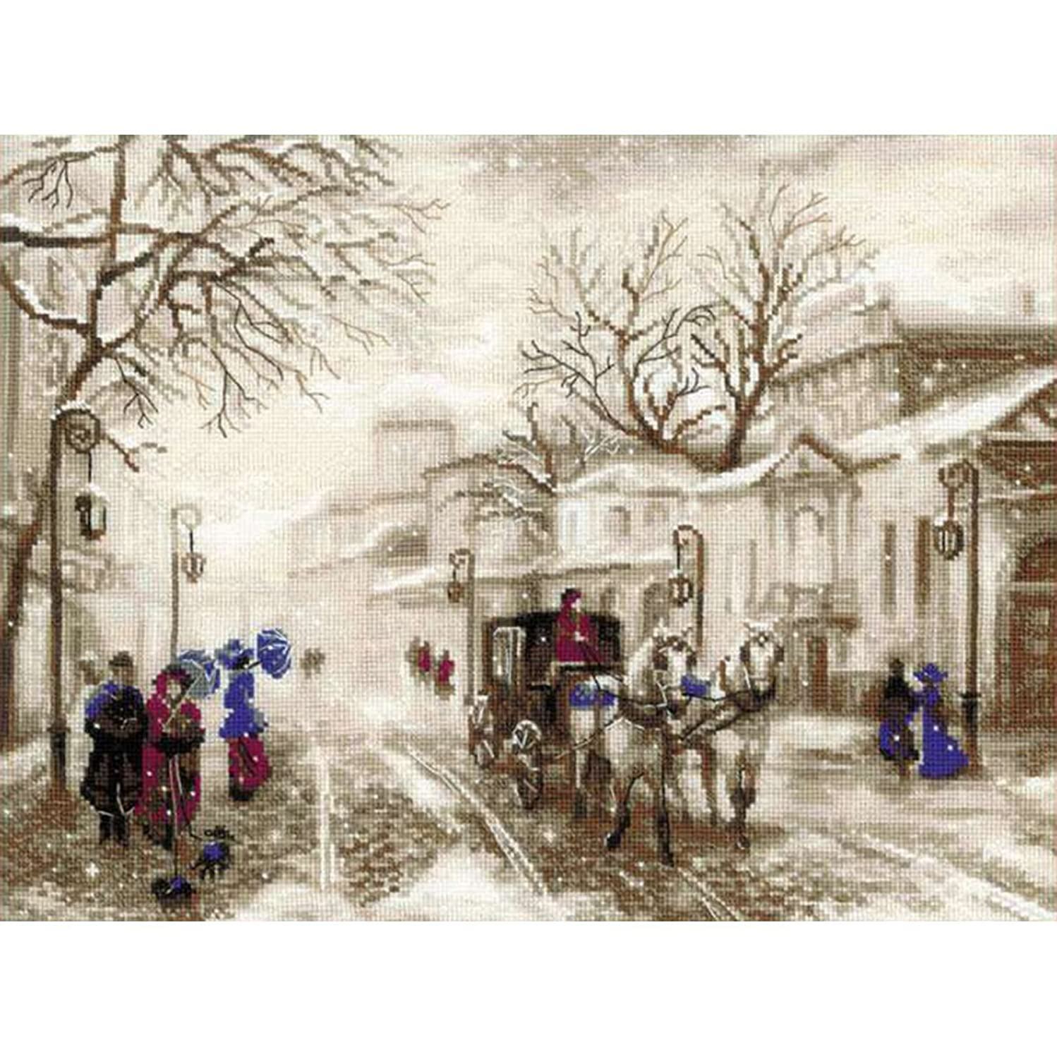RIOLIS 1400 - Old Street - Counted Cross Stitch Kit 15?