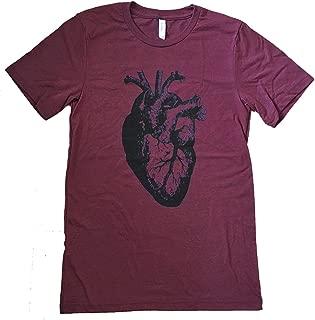 Men's Anatomical Heart T-Shirt