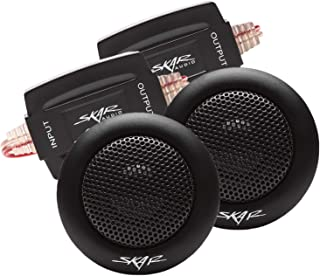 Skar Audio SK-T 1-Inch 160 Watt Max Power Neodymium Silk Dome Tweeters, Pair