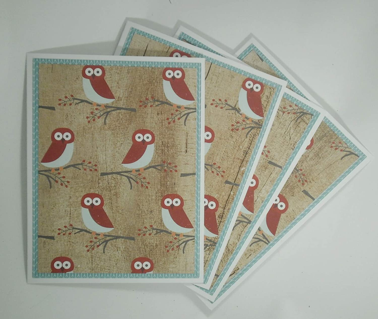 Owl Note Card Set NEW before selling ☆ Lover for Spasm price Winter Bird