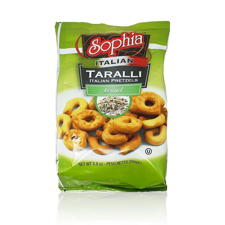Sophia Taralli Italian Japan Maker New Pretzels List price - Pepper Fennel 12-pack 8.8oz