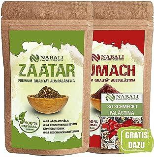 NABALI FAIRKOST Zaatar & Sumach productos de calidad según Ottolenghi de Palestina cada I 100% natural aromático Tradicion...