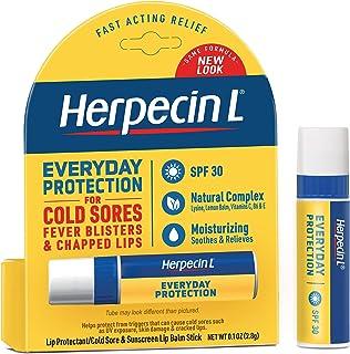 Herpecin L Bal Balm Stick، SPF 30 & Lysine، 0.1 اونس لوله