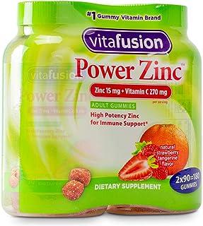 Vitafusion Power Zinc Gummy Vitamin 2 Bottle (180 ct Totally.)