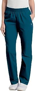 Landau womens Women's Elastic Waist Scrub Pant Medical Scrubs Pants (pack of 1)