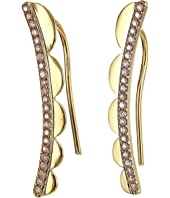 Kate Spade New York - Slender Scallops Ear Pins Earrings