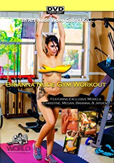Nude Gym Workout featuring Brianna Christine Megan and Jayden - a Nude-Art Film