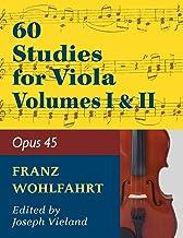 Wohlfahrt Franz 60 Studies, Op. 45: Volumes 1 & 2 - Viola solo