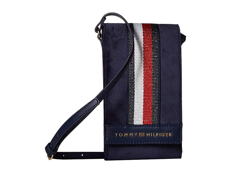 Tommy Hilfiger Isa Phone Crossbody (Tommy Navy) Cell Phone Case