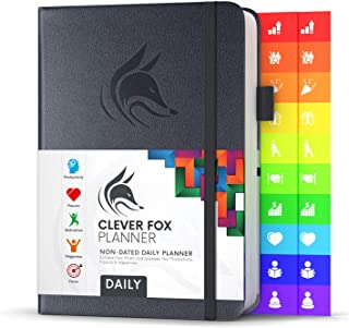 Sponsored Ad - Clever Fox Planner Daily - Best Agenda & Daily Calendar to Boost Productivity, Happiness & Hit Your Goals -... photo