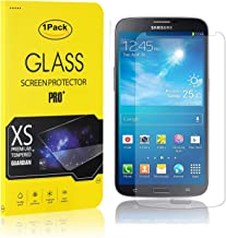 MoKiin Tempered Glass Screen Protector for Galaxy S4, HD Crystal Clear Screen Protector, Ultra Thin, 9H Hardness Screen Protector Film, 1 Pack