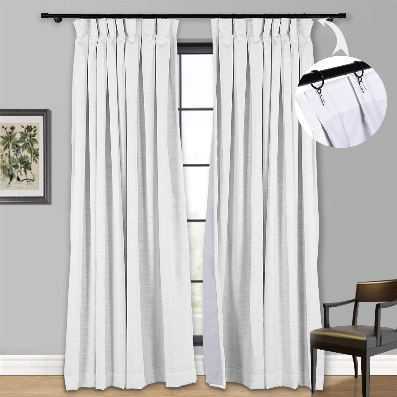 業界No.1 Blackout Curtain Panels Window Darkeni Room Draperies Insulating キャンペーンもお見逃しなく