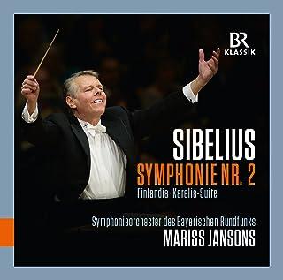 シベリウス:交響曲 第2番/フィンランディア/カレリア組曲(ヤンソンス&バイエルン放送響)