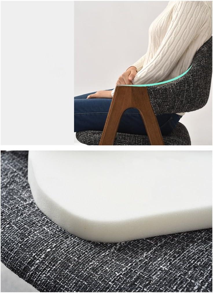 Président WGZ- Accueil Chaise Chaise en Bois Massif Chaise Minimaliste Moderne Simple (Color : B) F