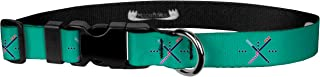 Fun Printed Dog Collar - Patterned Adjustable Dog Collars, Made in the USA - Wide Variety of Designs and Sizes