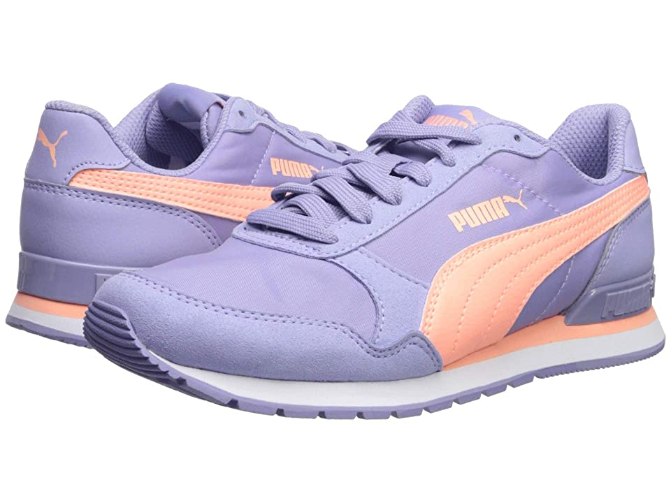 Puma Kids ST Runner v2 NL (Big Kid) (Sweet Lavender/Bright Peach/Puma White) Kids Shoes