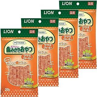 ライオン (LION) ペットキッス (PETKISS) オーラルケアササミジャーキー 20g×4個