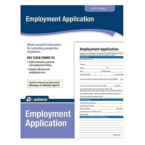 Job Application Form: Amazon com