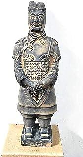 彫像、テラコッタ戦士、馬の工芸品モデル秦テラコッタ戦士と馬の将軍モデル工芸品の家の装飾コレクションH20cm 兵馬俑記念碑 TU BANG SHOU