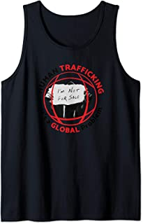 Human Trafficking It's a Global Problem I'm Not For Sale Tank Top