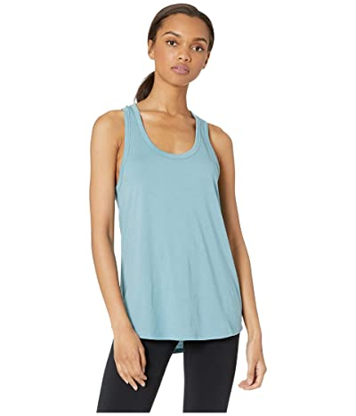 Beyond Yoga All About It Racerback Tank Top (Blue Crush) Women