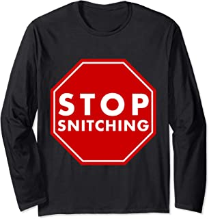 Best stop snitching t shirt Reviews