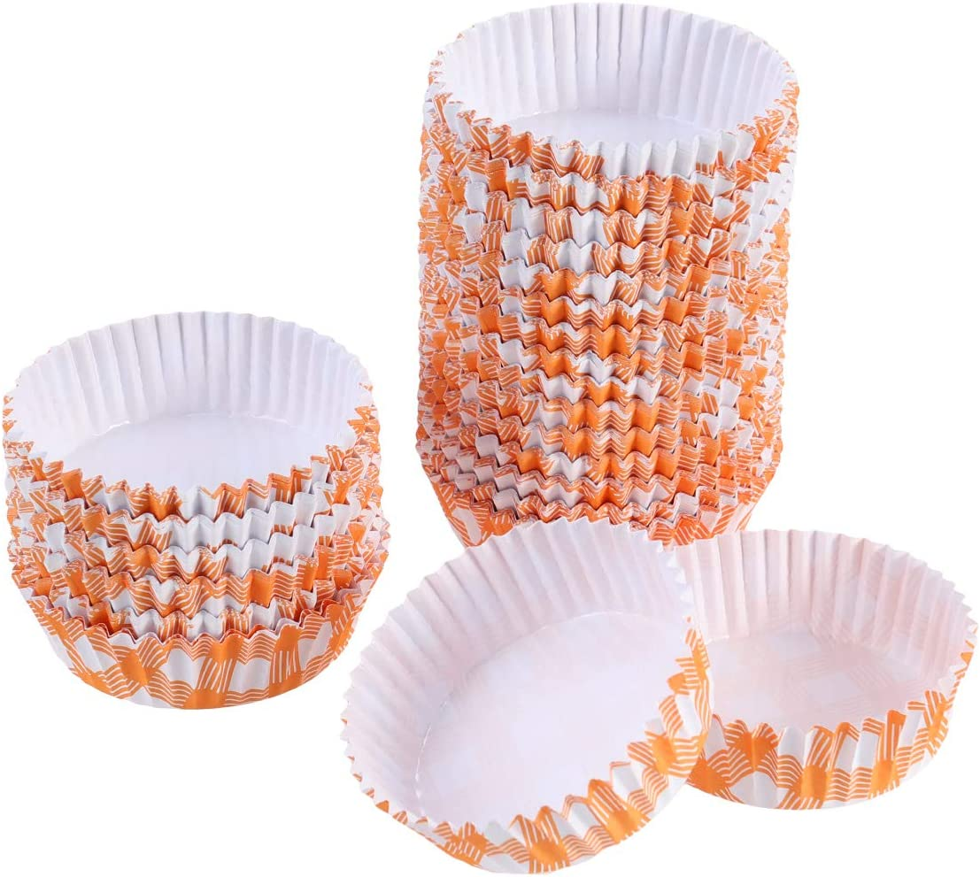 Useful Latest item 200pcs Heat Resistant Cupcake Portland Mall Wrappers Oil-proof Paper Tr