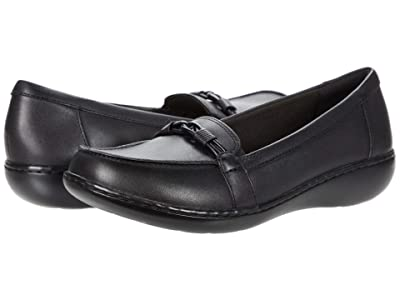 Clarks Ashland Ballot (Black Leather) Women