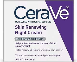 CeraVe 晚霜   1.7盎司(48克)  含透明质酸和烟酰胺的焕新晚霜  无香