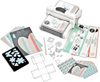 Sizzix Big Shot Plus White & Gray & Kit de démarrage