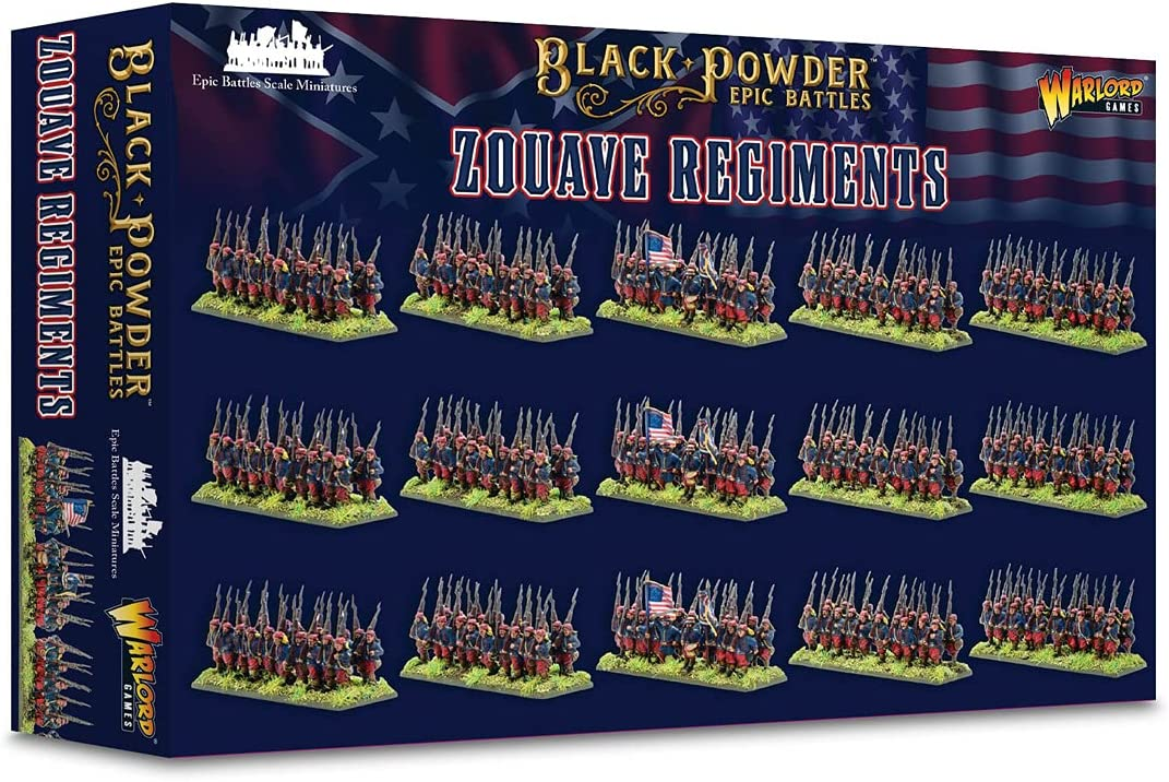 Warlord Games Epic Long-awaited Battles: Ranking TOP10 Regiments ACW Zouave