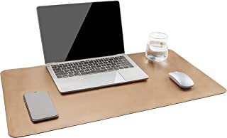 YSAGi Multifunctional Office Desk Pad, Ultra Thin Waterproof PU Leather Mouse Pad, Dual..