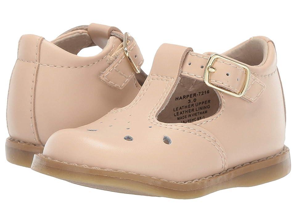 FootMates Harper (Infant/Toddler/Little Kid) (Taupe) Girls Shoes