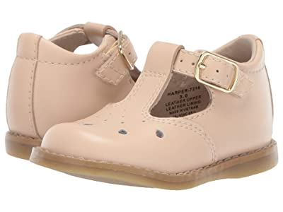 FootMates Harper (Infant/Toddler/Little Kid) (Taupe) Girls Shoes
