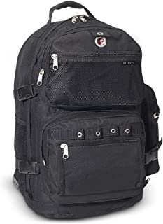 Everest - Mochila grande para equipaje, Negro, Una talla