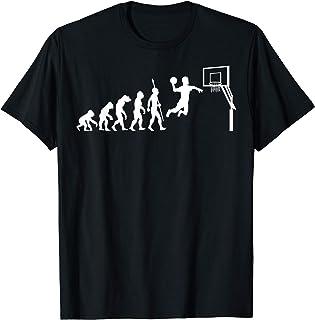 Evoluzione del Basket Pallacanestro Sport Evolution Maglietta